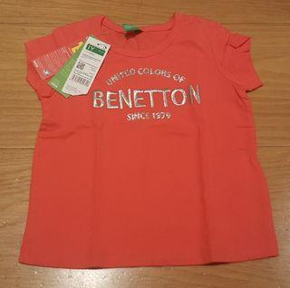 camiseta Benetton NUEVA