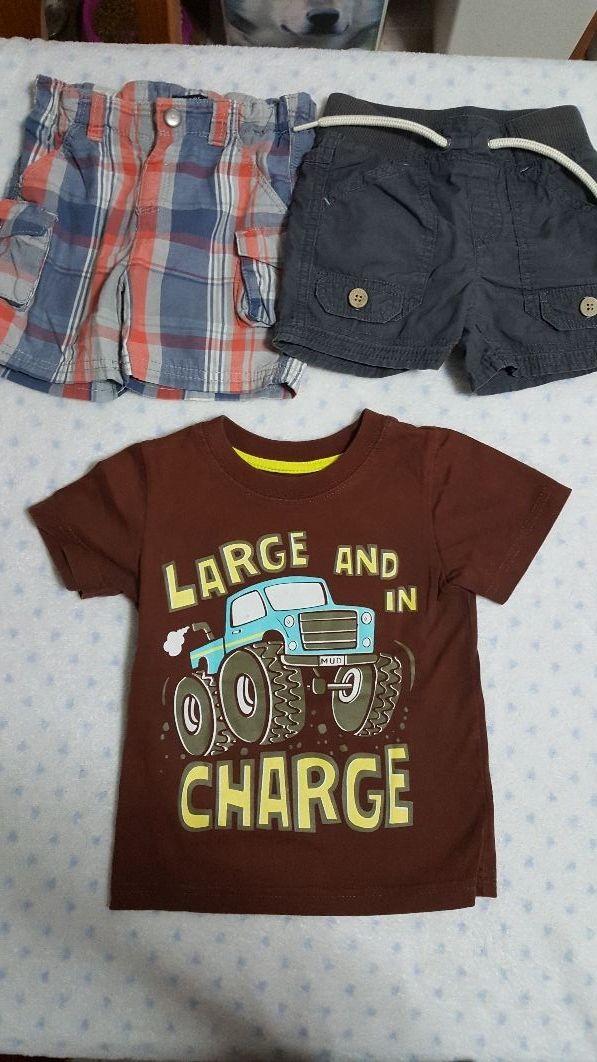 f3eca2855c9 Pack ropa bebe niño 18 meses verano de segunda mano por 8 € en ...