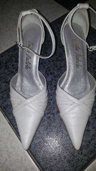 zapatos de novia Emilio Badiola