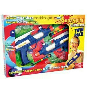 Pistolas Paintball SupasPlat (6 unidades)