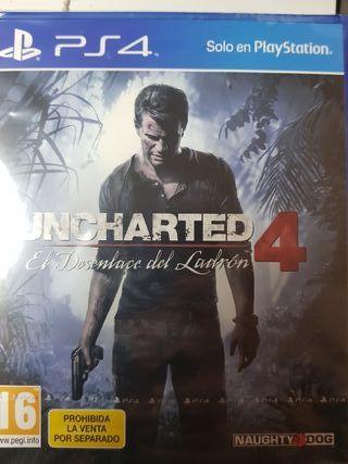 uncharted 4 nuevo PlayStation 4
