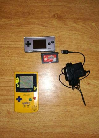 Consolas nintendo game boy color + Game boy micro