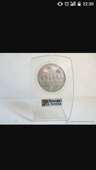 Moneda de plata del Real Madrid