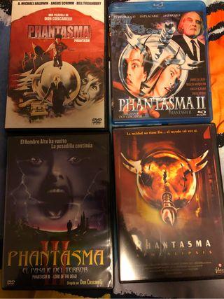 Peliculas Dvd/Bluray saga Phantasma Terror