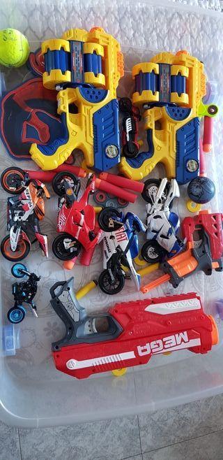 pistolas de juguetes juguetes en general