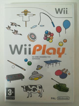 Juego Wii - Wii Play
