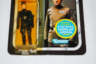 IMPERIAL COMMANDER FIGURA STAR WARS VINTAGE