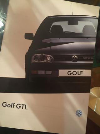 Catalogo volkswagen golf gti
