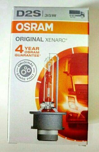 Lámpara bombilla xenon Osram D2S