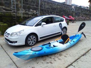 kayak nuevo de Mayo 2017 muy pocas salidas