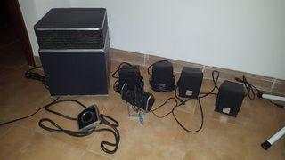 equipo altavoces 5.1 sonido