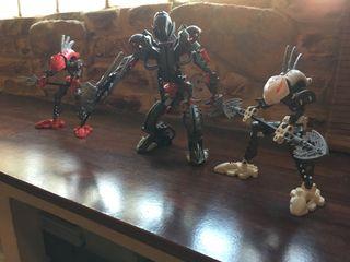 Muñecos bionicle