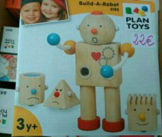 juguete plantoys Robot