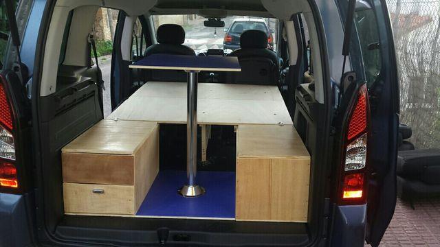 Muebles Para Furgonetas : Mueble para furgoneta camper camperizacion de segunda mano