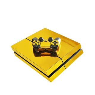 ps4 vinilo oro