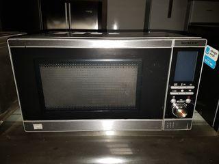 ocasión Microondas en inox con grill