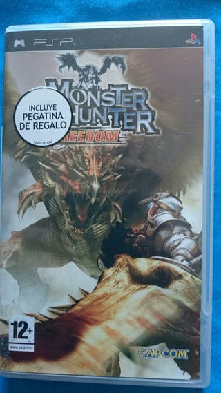 Juego psp, Monsters Hunter Freedom