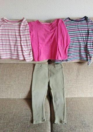 Lote ropa niña t.4/5 años