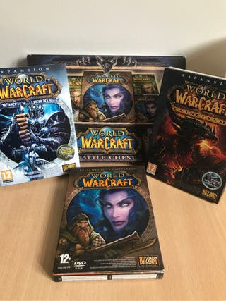 Vendo o cambio Pack World of Warcraft