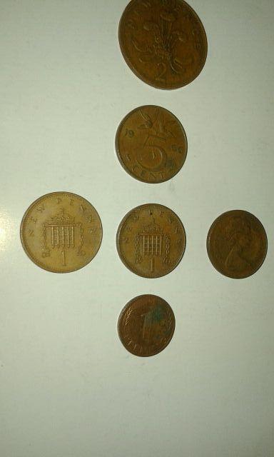 Monedas inglesas
