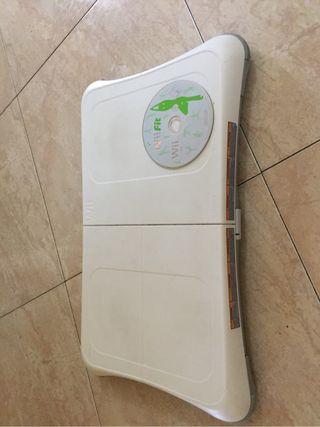 Wii +Tabla wii fit