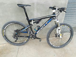 bicicleta doble, carbono, talla M