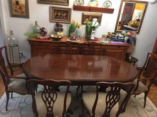 Mesa comedor vintage de segunda mano por 400 € en Murcia en WALLAPOP