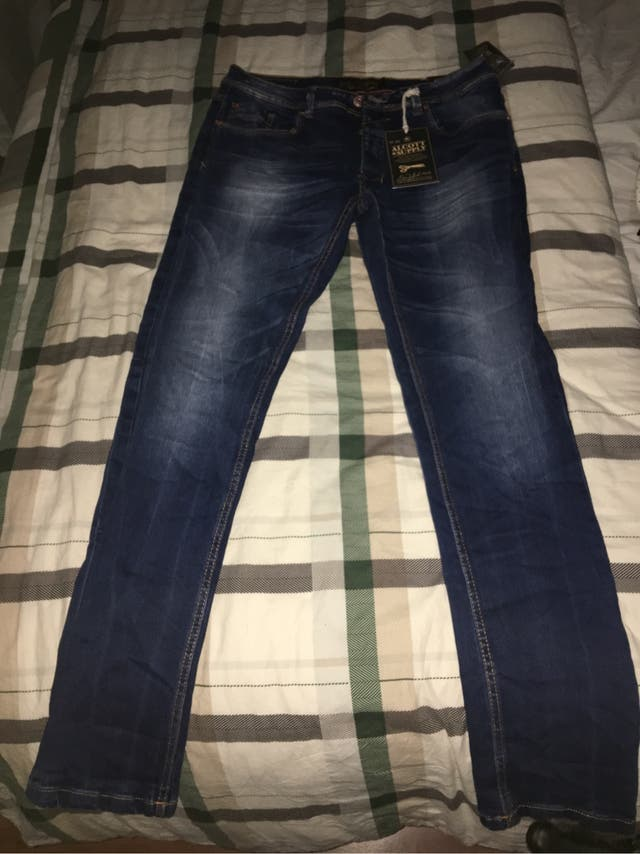 Pantalones tejanos Alcott chico