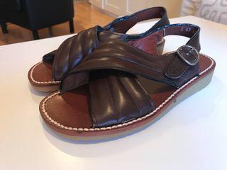 Zapato de piel niño N.34
