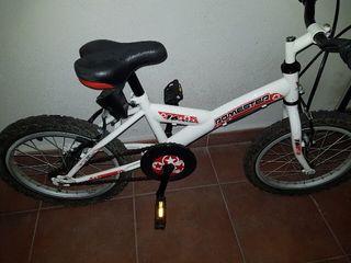 Bici, bicicleta, niño, niña,