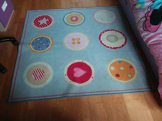 Oviedo alfombra inf ikea 132 x 132 de segunda mano por - Alfombra estrellas ikea ...