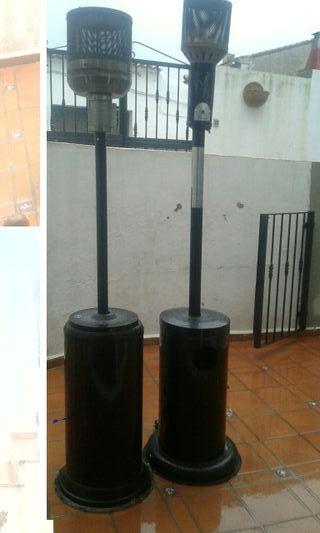 2 estufas butano de exterior