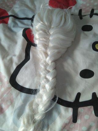 Peluca Elsa Frozen