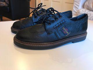 Zapatos piel niño N. 34