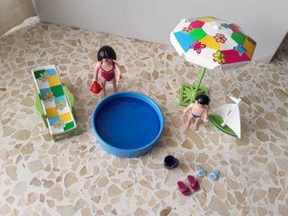 playmobil vacaciones con piscina 4864