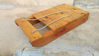 Trineo madera