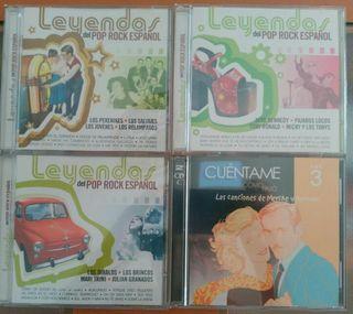 4 CDs musica