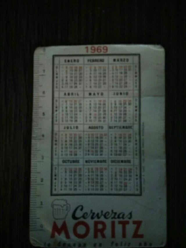 Calendario Del Ano 1969.Calendario Moritz Ano 1969 De Segunda Mano Por 50 En