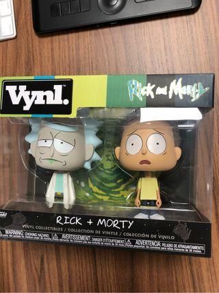 Figuras Vynl Rick y Morty