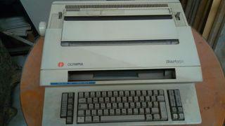 maquina de escribir olimpia startype