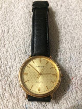 Reloj Radiant chapado oro hombre