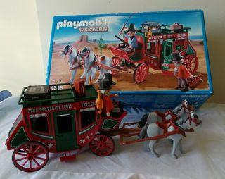Deligencia playmobil