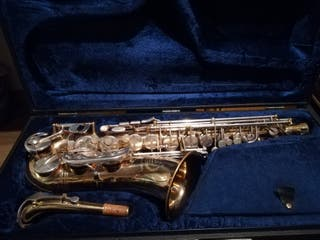 saxofon alto B&S serie 2001 handmade in Germany