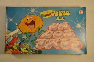 """Juego de mesa 1991 """"Un dos tres"""""""