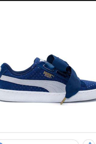 Puma Basket Azul Marino 38'5