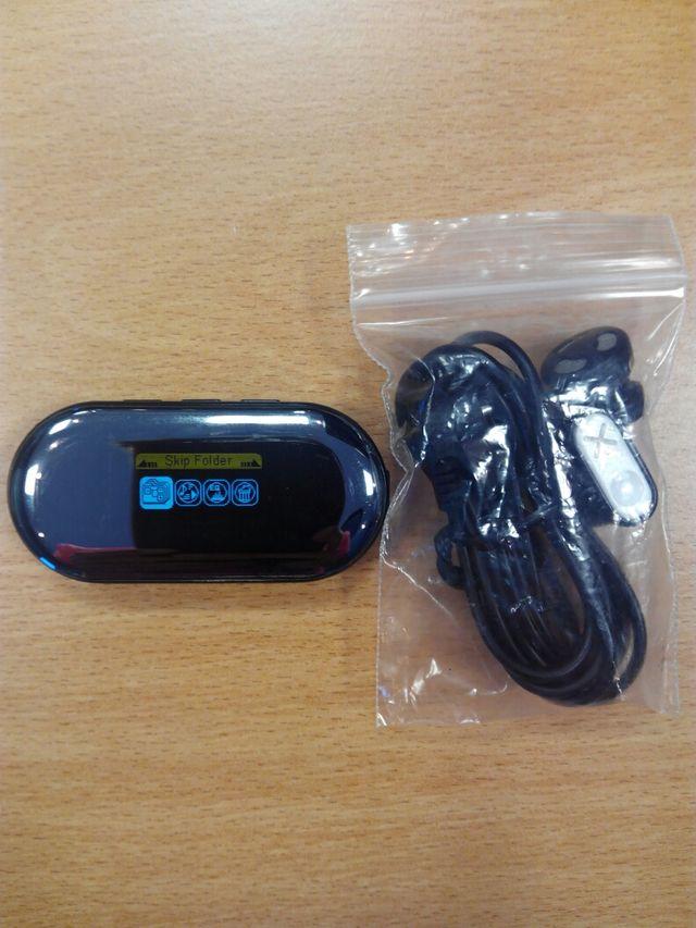 Reproductor mp3 con radio
