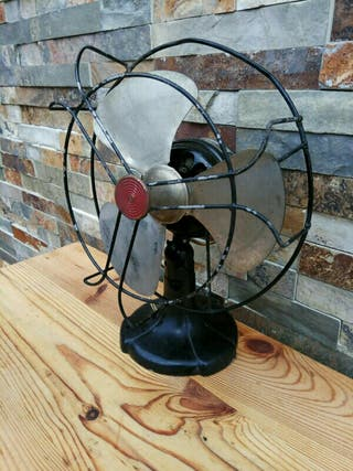 Ventilador industrial vintage