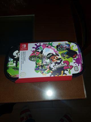 Funda para Nintendo switch de Splatoon 2