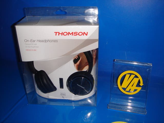 "AURICULARES ON-EAR THOMSON ""HED 2215"" thomson"