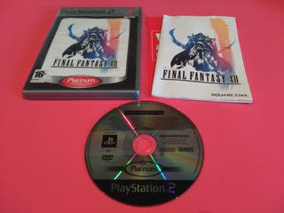 Final Fantasy XII PlayStation 2 PS2
